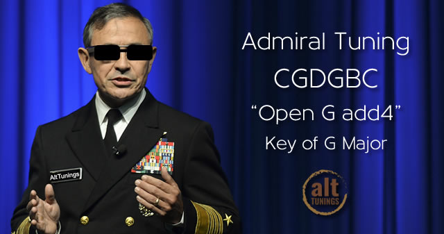 Admiral Tuning CGDGBC In G Major