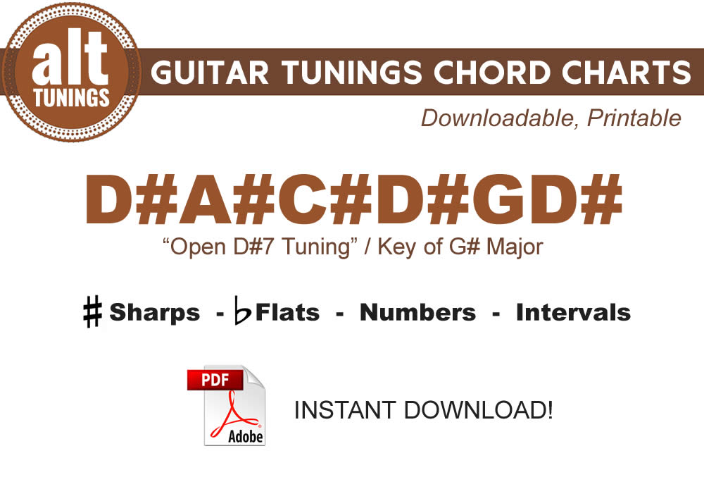 guitar tunings chord charts d a c d gd alt tunings. Black Bedroom Furniture Sets. Home Design Ideas